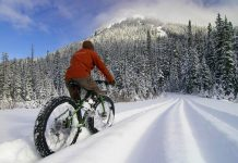 E-kolo za zimsko kolesarjenje
