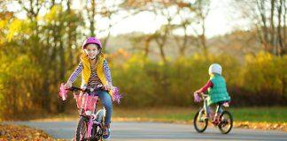 Napake neizkušenih kolesarjev