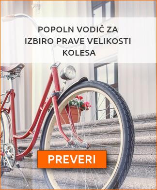 Vodič za izbiro velikosti kolesa