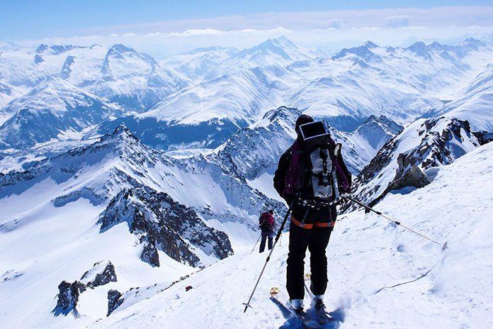 Turno in alpinistično smučanje