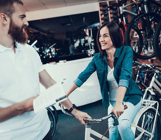 Nakup ženskega kolesa