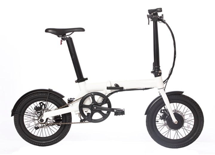 Zložljivo električno kolo