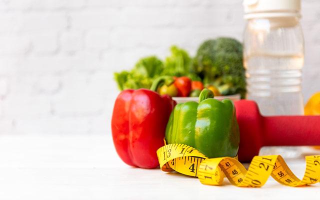 Zdravo prehranjevanje in telovadba