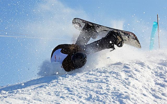Poškodba rame pri bordanju na snegu