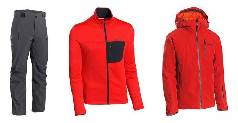 Smučarska oblačila Atomic: hlače, jopa in jakna